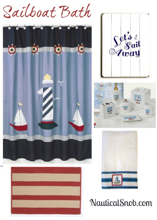 Sailboat Bathroom Design