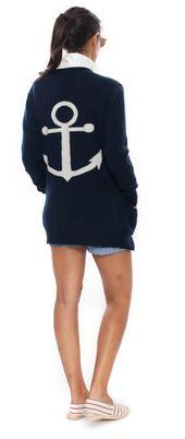 Women's Nautical Blazer Jacket
