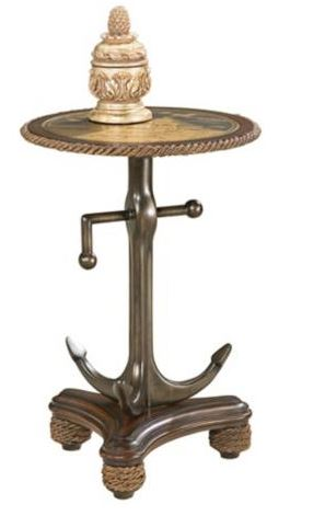 Nautical End Table