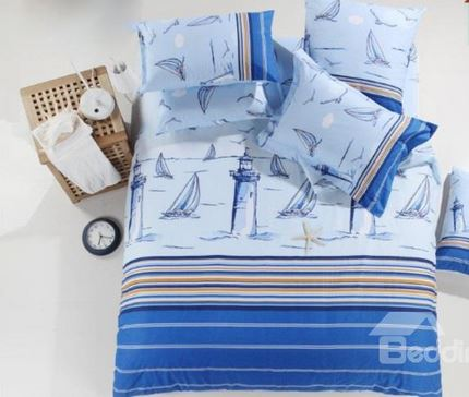 lighthouse bedding set