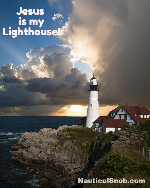 jesus is my lighthouse