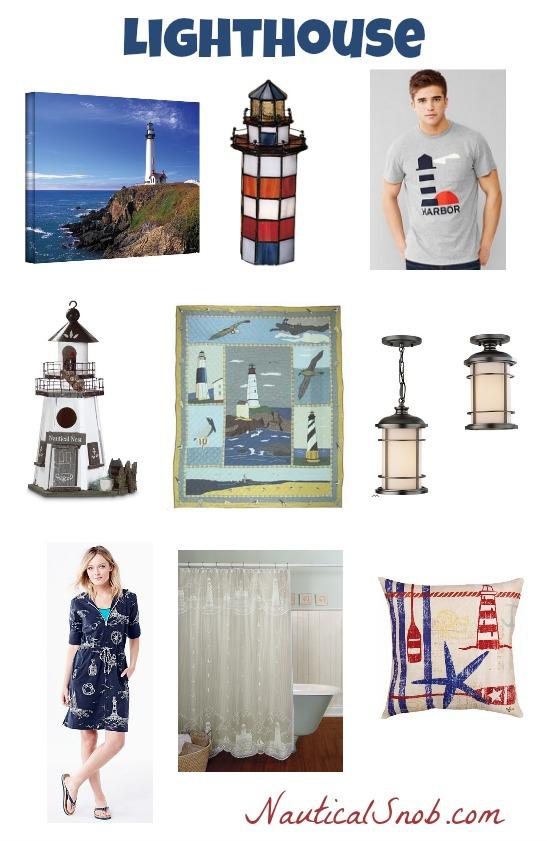 lighthouse theme board
