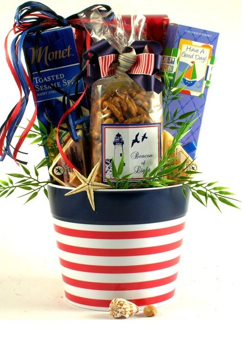 nautical gift basket