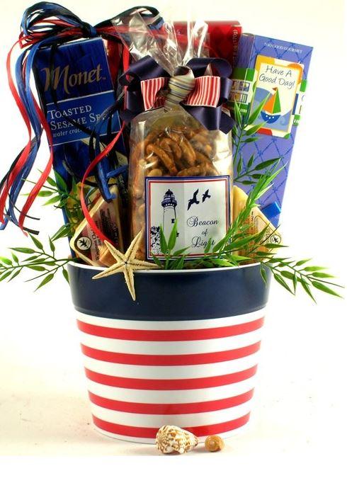nautical gift basket
