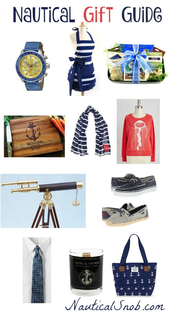 nautical gift guide 2015