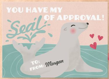 nautical valentine's day cards