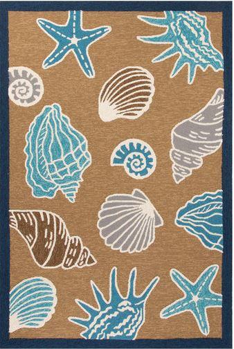 seashells rug