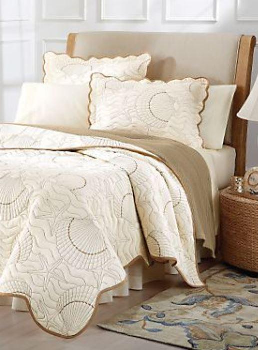 seashells quilt