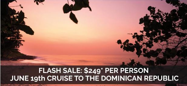last minute cruise deal to the Dominican Republic