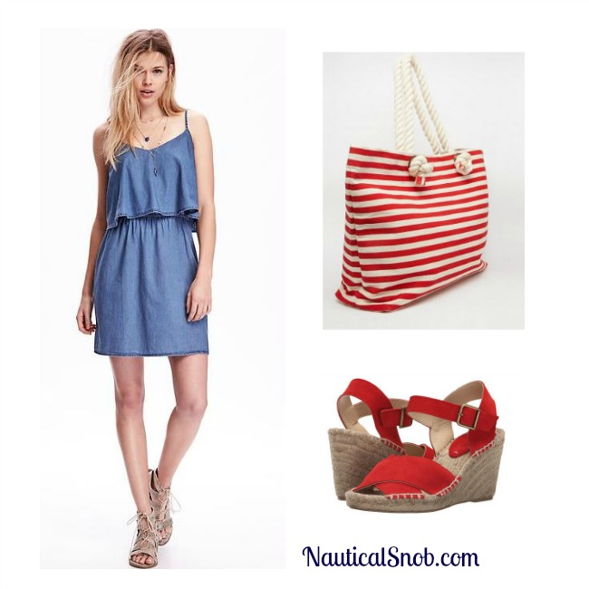 nautical dress and outfit