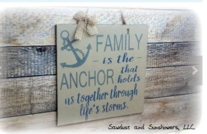 family is the anchor art