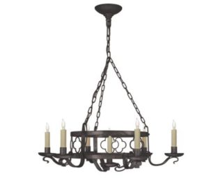 wrought iron candle light