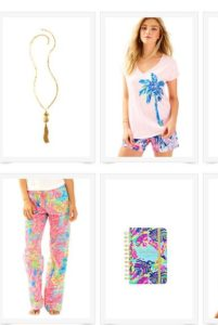 lilly pulitzer tropical items